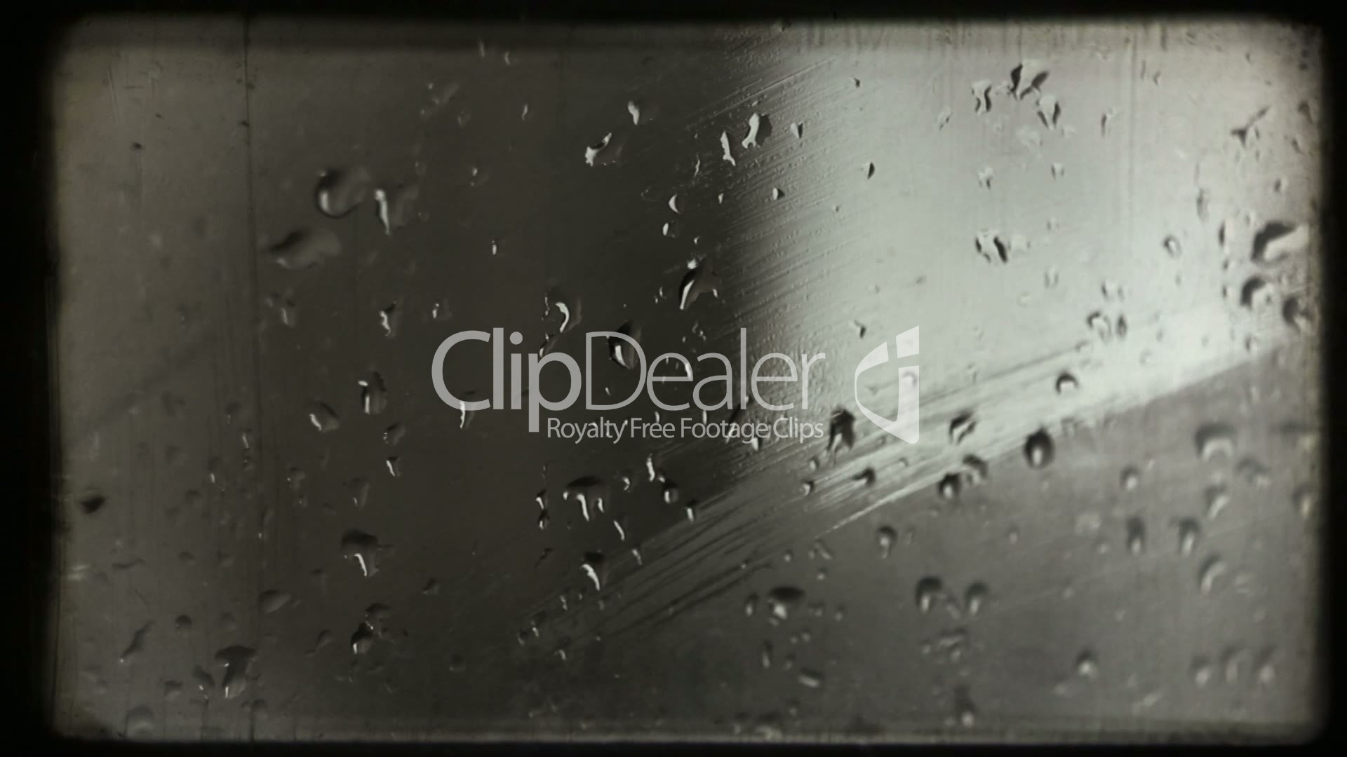 Hand wipes misted glass. Old film.: Lizenzfreie Stock Videos und Clips