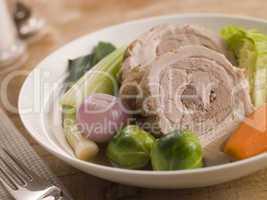Bowl of Belly Pork Pot-au-Feu