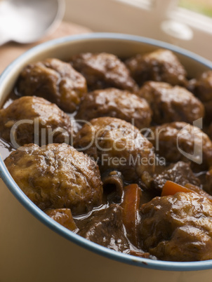 Beef Stew and Herb Dumplings