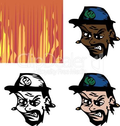 Angry Avatar Man