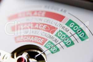 Battery Meter Reading Good Battery