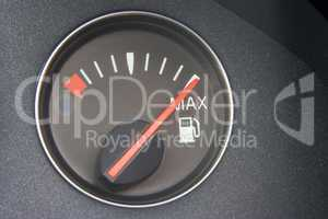 Fuel Gauge Reading Full