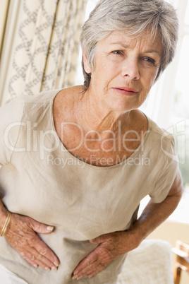 Woman Feeling Unwell
