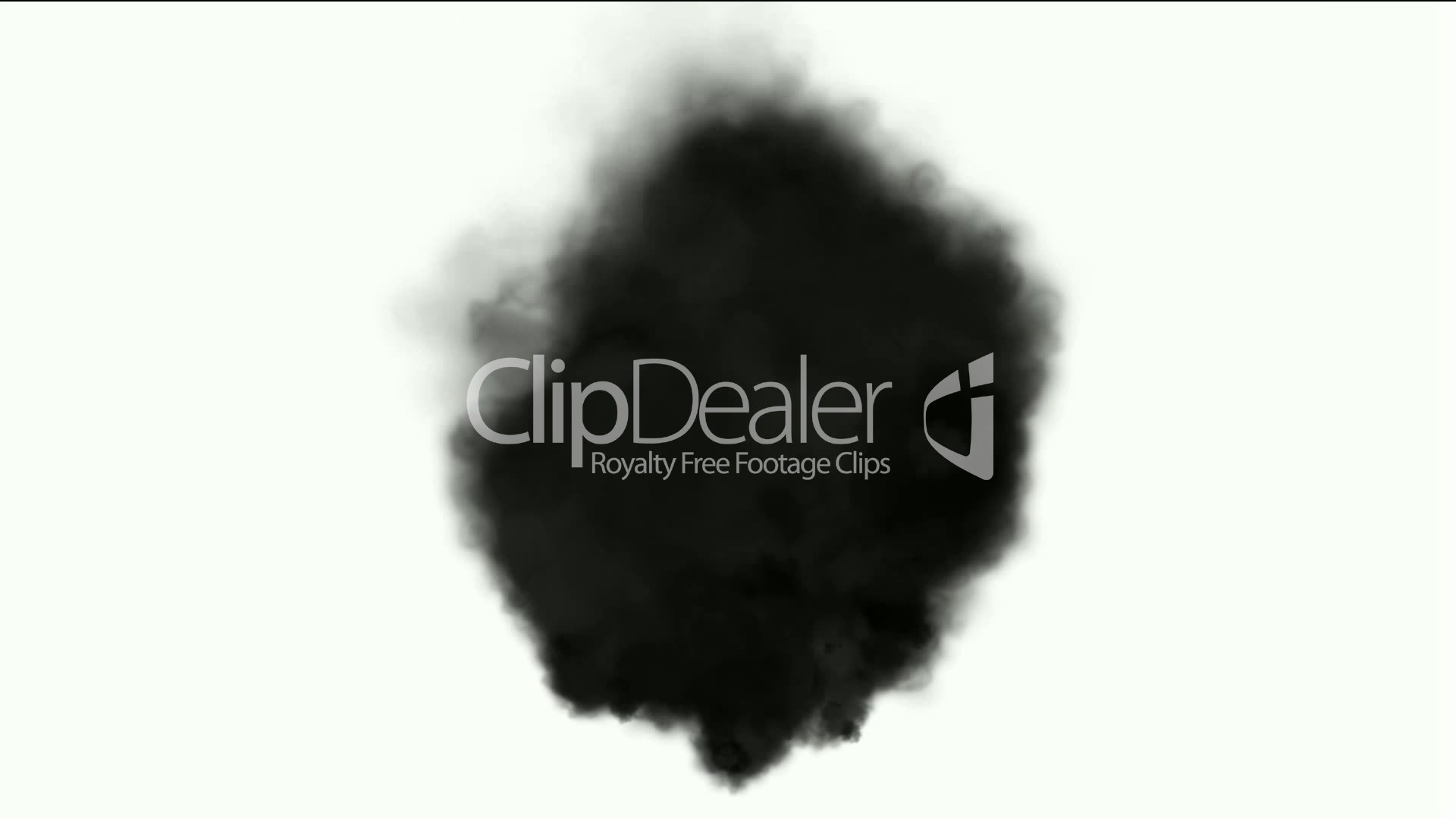 Black smoke in white background,seamless loop,def.disaster,particle ...