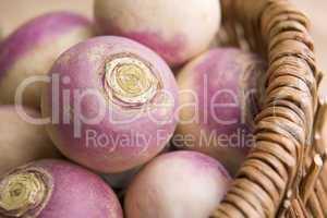 Basket Of Turnips