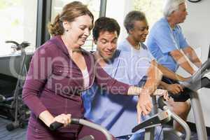 Training am Hometrainer
