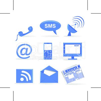 communiction icons