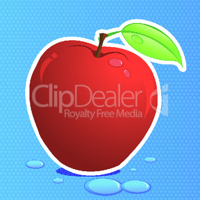 fresh vector apple