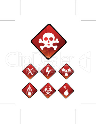 warning sign icons