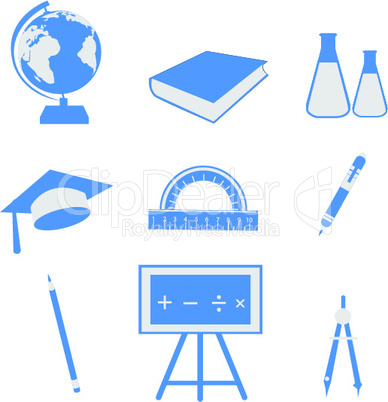 set of education icon