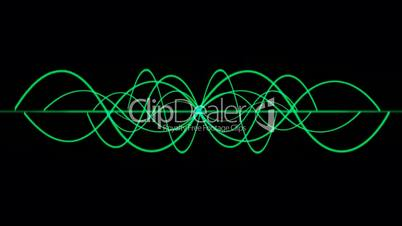 green lines wave,seamless loop.rope,vision,idea,creativity,beautiful,disorder,ECG,EEG,medical,frequency,vibration,vj,art,decorative,mind,glow,graph,illuminated,luminosity,magic,mixer,music,oscillation,pulsating,pulse,rhythm,Electrocardiogram,Waveform,life