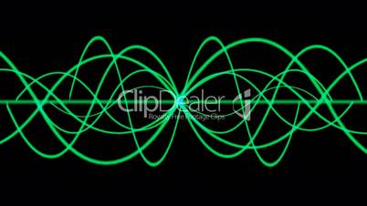 green lines wave.symbol,dream,vision,idea,creativity,beautiful,disorder,ECG,EEG,frequency,vibration,vj,art,decorative,mind,glow,graph,illuminated,luminosity,magic,mixer,music,oscillation,pulsating,pulse,rhythm,Electrocardiogram,Waveform,life,alive,acousti