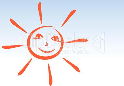 Sun smiles.