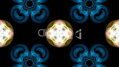 Animation of color flower lotus pattern, oriental religion fancy texture.Buddhism Mandala flower,kaleidoscope