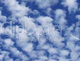 Himmel mit Wolken - Blue Sky with Clouds