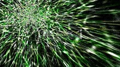 green fiber background,like as meteor,optical fiber.vision,idea,creativity,beautiful,art,