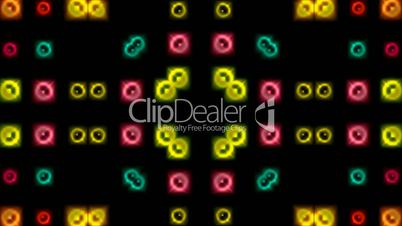 color disco neon light background.celebration,christmas,circle,bubble,blister,
