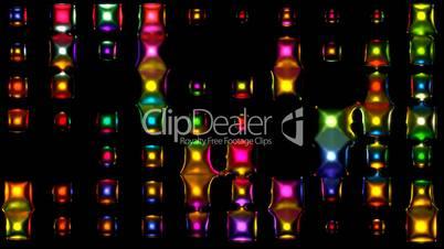 3d metal disco neon light.glass,concert,effects,entertainment,illumination,lights,