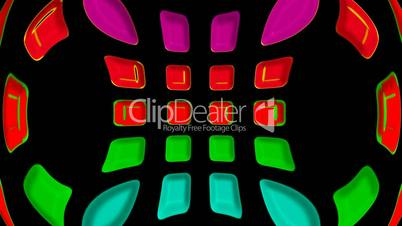 3d color disco shine shape background,computer interface.plastic,circle,engineering,light,pipe,