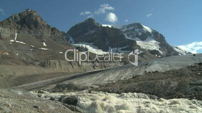 Mount Andromeda and the Athabasca Glacier