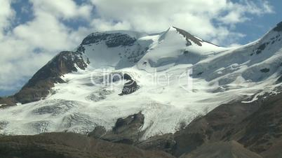 Mount Athabasca time lapse