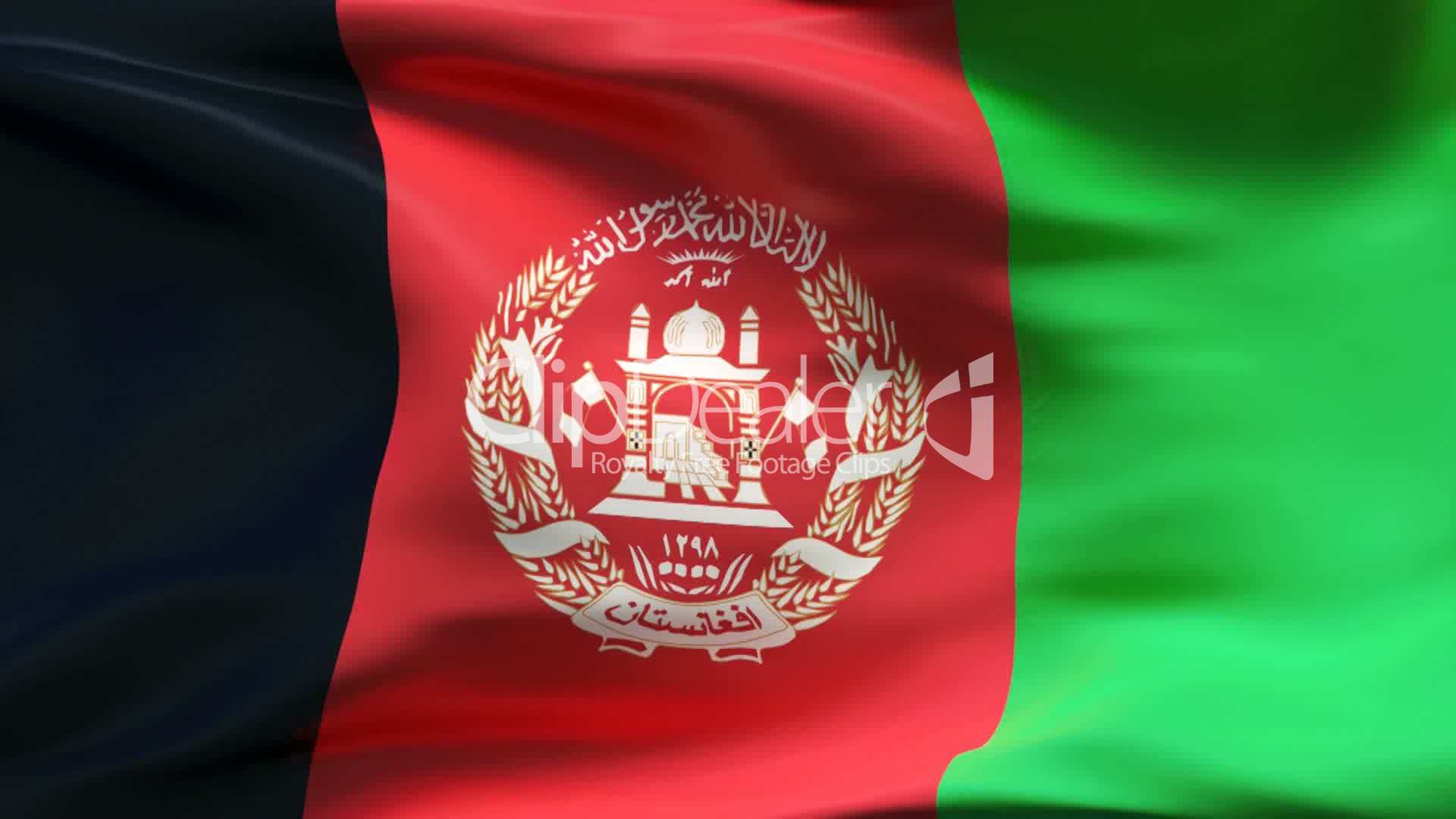 Afghanistan Flag Video