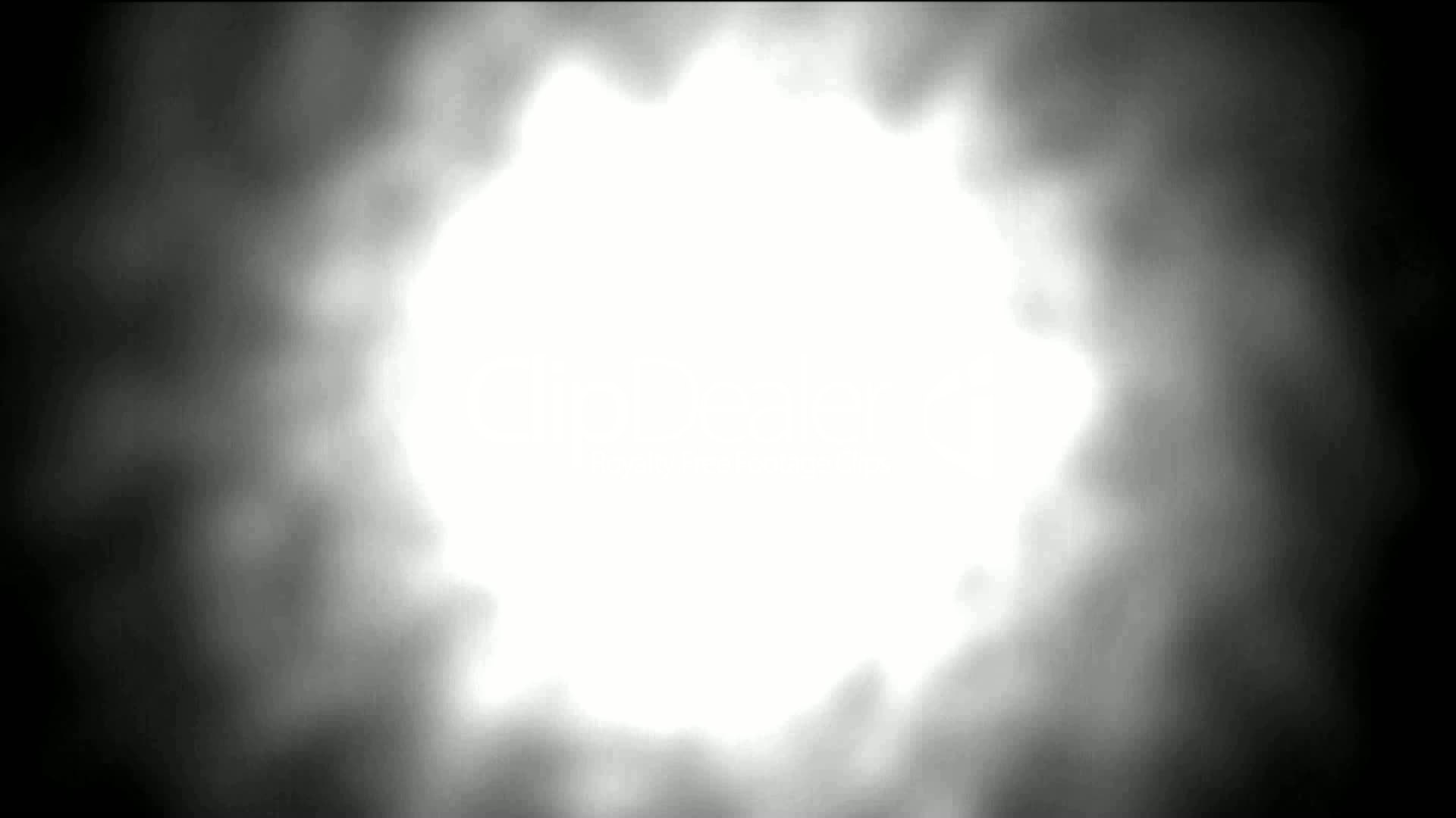 Nuclear Explosion Dazzling White Aura Light Beam Bright