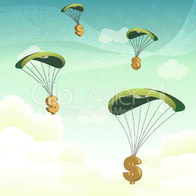 dollar parachutes