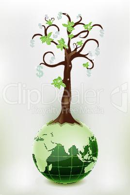 dollar tree and globe