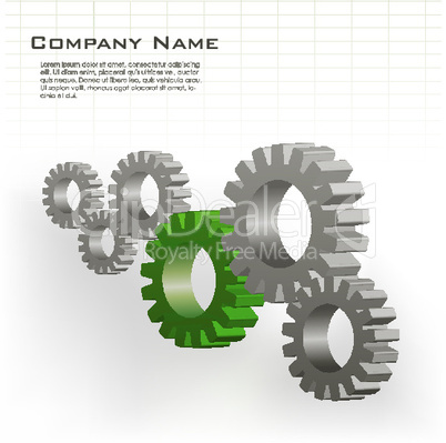 illustration of cog wheels showing