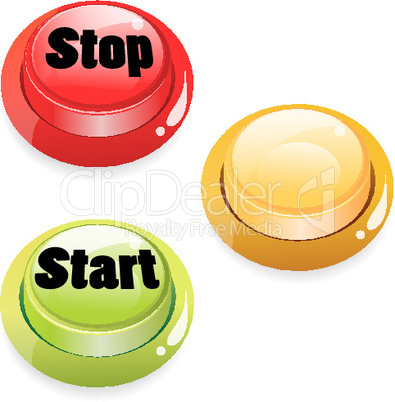 set of start stop push button