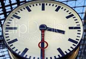 Bahnhofs Uhr - railway station clock