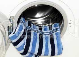 Waschmaschine mit Handtüchern - Washing Machine