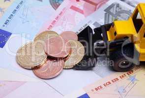 Geld - Euros - Münzen - Money