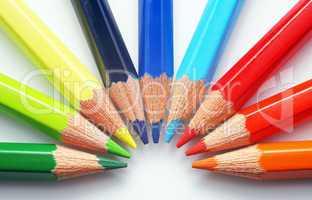 Buntstifte - Crayon - Farben - Colours