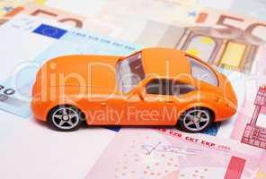 Auto Finanzierung - Money and Car