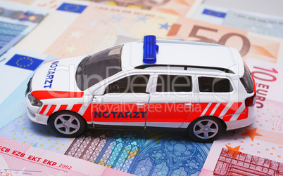 Geldprobleme - Notarzt - Emergency and Money