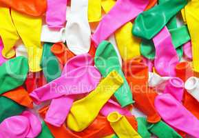 Party Bolloons Macro - Luftballons Nahaufnahme