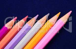 Buntstifte Pastellfarben - Crayons Close-up
