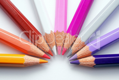 Buntstifte Farben - Crayon Colours