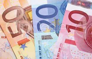 Geldscheine Euros - Money - Cash