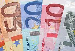 Geld - Euro - Währung - Money