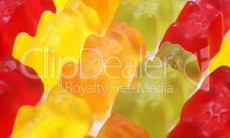 Gummi Bären Makro - Jelly Babies Close-up