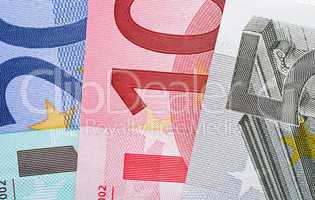 Euro Geldscheine - Euros Cash Macro