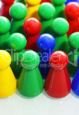 Business Team Concept - Colors