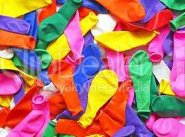 Balloons Macro - Luftballons Nahaufnahme