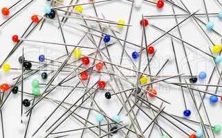 Colourful Needles - Stecknadeln