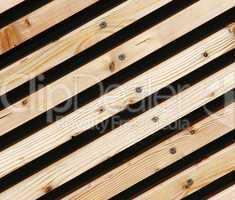 Holzbretter diagonal - Timber Wood