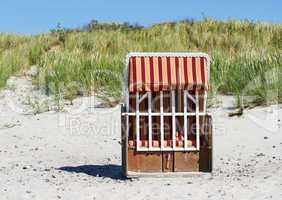 Beach Chair in the Sunlight - Strandkorb