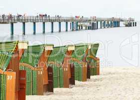 Strandkörbe am Meer - Beach Chairs